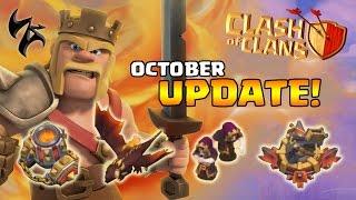 ZadistiX - Clash Of Clans สรุปอัพเดทใหม่ตุลาคม 2016