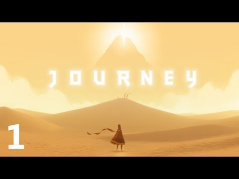 Journey (PS3) Walkthrough HD (No Commentary) Part: (1/8)