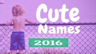 Unique Boy Names | Naming lil boys and girls just got easier!!