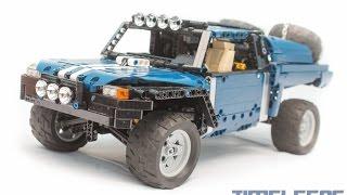 getlinkyoutube.com-Lego Trophy Truck (R/C)