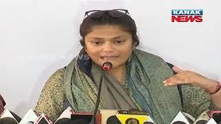 Press Conference of Mahila Congress President Sushmita Dev
