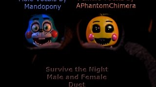 getlinkyoutube.com-Survive The Night (Male and Female Duet)