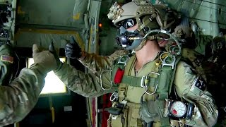 getlinkyoutube.com-U.S. Army Special Forces Green Berets - High Altitude Jump
