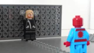 getlinkyoutube.com-Lego The Amazing Spider man Car Thief scene
