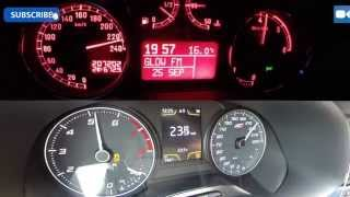 getlinkyoutube.com-272 HP Alfa Romeo 147 JTD vs 280 HP Seat Leon Cupra