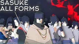 getlinkyoutube.com-Sasuke Moveset All 8 Forms+Combo+Awakening [Showcase] Naruto Shippuden Ultimate Ninja Storm 4