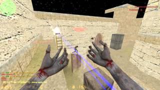 getlinkyoutube.com-Cthon 'n' Arrack Spazzin': Counter Strike 1.6 - Zombie Survival