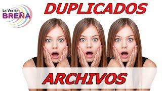 getlinkyoutube.com-Como Eliminar Archivos Duplicados