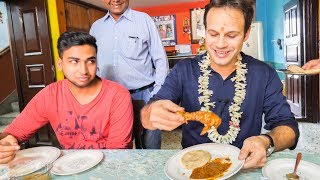 AMAZING Indian Food ADVENTURE in KOLKATA, India | BEST Indian Street Food and Homemade Indian CURRY width=
