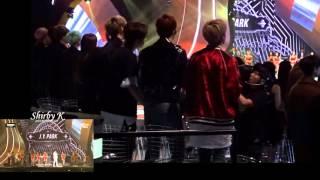 getlinkyoutube.com-151202 MAMA -Got7's  JYP performance reaction (어머님이 누구니 Who's your mama? )