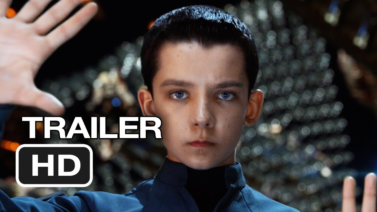 A photo of Ender's Game Official Trailer #1 (2013) - Harrison Ford Movie HD