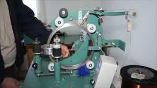 getlinkyoutube.com-Motalica za toroidne transformatore (Toroidal Winding Machine for toroid transformers)