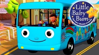 getlinkyoutube.com-Wheels On The Bus | Part 4 | Nursery Rhymes | from LittleBabyBum!