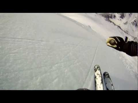 GoPro Hero 2 in St Anton 2012!   The Glitch Mob - Drive It Like You Stole It