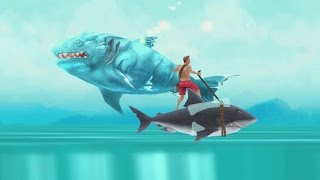 getlinkyoutube.com-Hungry Shark Evolution Ice Shark Android Gameplay #14