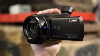 getlinkyoutube.com-США. Купили Sony FDR-AX33 4K, ОБЗОР, Unboxing Video Camera