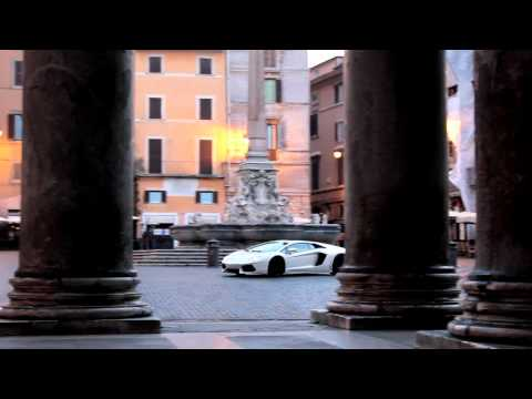 Lamborghini Aventador LP700-4 On The Streets Of Rome Official Video [1080p]