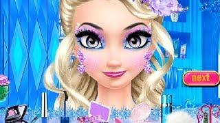 getlinkyoutube.com-Juegos para Niñas - Elsa Cambiando de Imagen - Videos para Niñas
