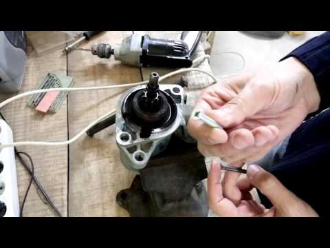 Ремонт стартера Bosch. Как снять стартер Гольф 3 без ямы Bosch starter
