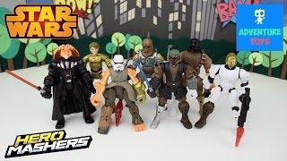 getlinkyoutube.com-Star Wars Hero Mashers | Mashup #1