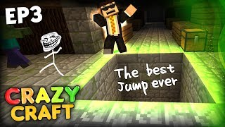 getlinkyoutube.com-THE BEST EDITED JUMP EVER AND THE MYSTERIOUS HOLE - Minecraft CrazyCraft 2.0 Ep 3 (Minecraft Mods)