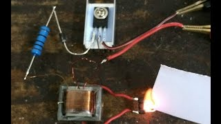 getlinkyoutube.com-DC High voltage Generator Inverter Electric arc Ignitor Coil module DIY kits