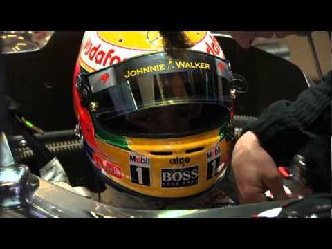 Lewis Hamilton 2011. scene iz boksa