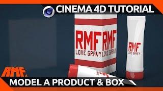 getlinkyoutube.com-Cinema 4D Tutorial - Model a Product and Box