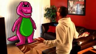 getlinkyoutube.com-GHETTO BARNEY! THE FUNNIEST VIDEO EVER!