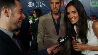 getlinkyoutube.com-Fall Previews  - CBS Press Tour Red Carpet: Daniela Ruah & Miguel Ferrer