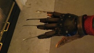 getlinkyoutube.com-Furnace Freak Freddy Krueger Glove Review - RazorGloves.com