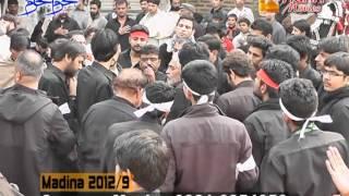 MADINA SYEDAN 9th of Muharram 1434 AH 2012-2013 Part 2/8