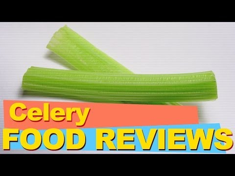 What does Celery taste like? (Food Reviews)