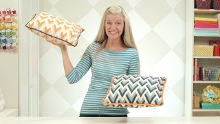 getlinkyoutube.com-How to make a pillow or cushion with Piping attached