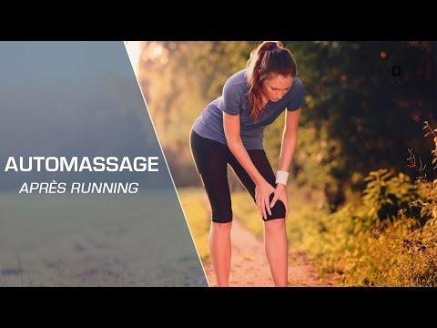 Automassage après le running