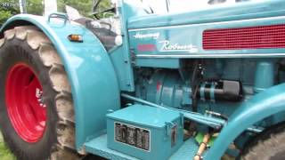 getlinkyoutube.com-Oldtimer Traktoren Hanomag / Robust 800 Bj.1960