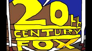 20th Century Fox MS Paint Logo with 1953 Fanfare