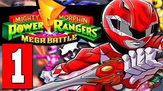 getlinkyoutube.com-Mighty Morphin POWER RANGERS Mega Battle Gameplay Walkthrough Part 1 Lets Play [HD PS4 XBOX PC