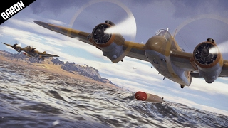 getlinkyoutube.com-Beaufighter BEAST - War Thunder Planes Gameplay - Ground and Poud