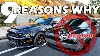 Shelby-Super-Snake-VS-Dodge-Demon-THE-CLEAR-CHOICE width=