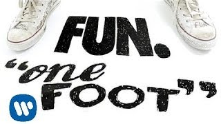 VIDEO: fun. does a pretty cool take on the lyric video with &apos;One Foot&apos;