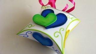 getlinkyoutube.com-Manualidades para regalar - Cajita para regalo - Manuaildades para todos