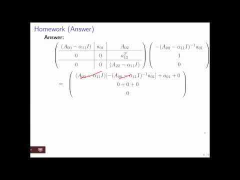 12.3.1 Eigenvalues and Eigenvectors of n x n matrices: Simple Cases Part 3