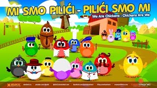 getlinkyoutube.com-Mi smo Pilici / We Are Chickens (2015) Hit Video for Kids