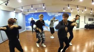 getlinkyoutube.com-EXO 'Growl' mirrored Dance Practice (Korean ver)