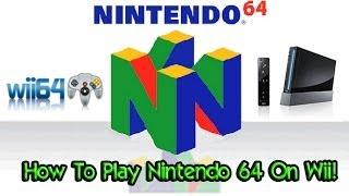 getlinkyoutube.com-How To Play Nintendo 64 Games On Wii! - Wii64 Emulator