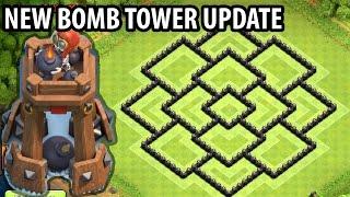 getlinkyoutube.com-Clash of Clans - TH8 Farming Base + BOMB TOWER - Town Hall 8 Hybrid Base Anti 2 Star