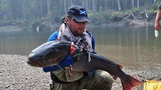 Горная рыбалка на реке Уда 2012 .avi