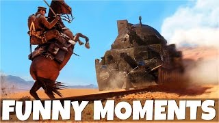 getlinkyoutube.com-CAN A HORSE STOP THE TRAIN IN BATTLEFIELD 1? | BF1 Funny Moments (Trolling, Epic Kills, Glitches)