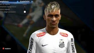 getlinkyoutube.com-PES 2013 Neymar New Face Edit Install